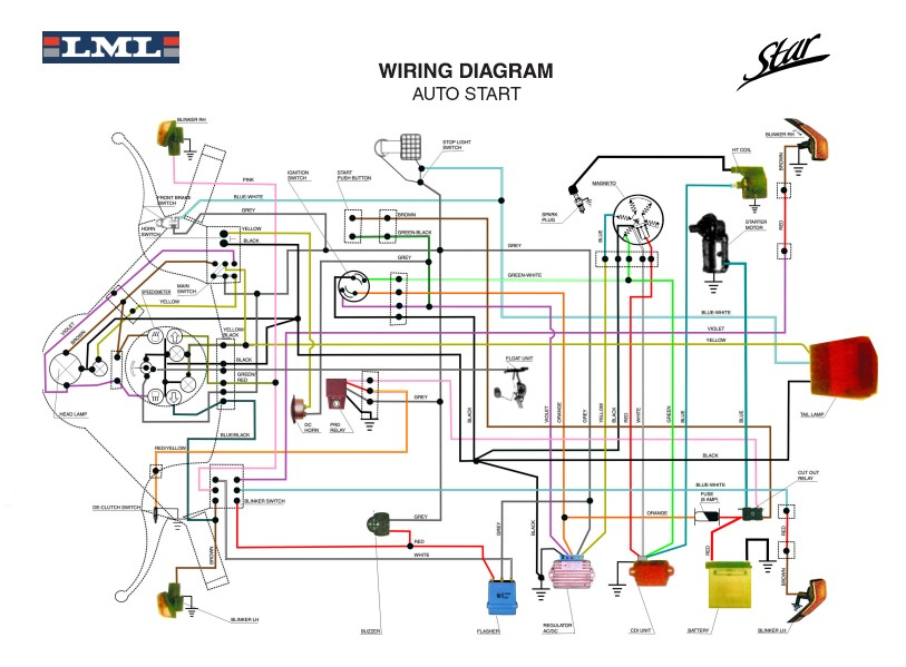 WIRING_DIAGRAM_LML_STAR_DLX 6 wire cdi wiring diagram 6 wire cable wiring diagram ~ odicis 6 wire cdi wiring diagram at bayanpartner.co